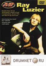 Ray Luzier Double bass drum technique dvd booklet Ray Luzier