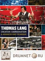 Thomas Lang Creative Coordination and Advanced Foot Technique dvd booklet Thomas Lang