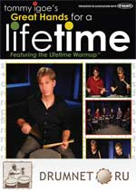 Tommy Igoe Great Hands For A Life time dvd booklet Tommy Igoe