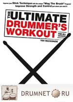 Ted Mackenzie The Ultimate Drummer's Workout For All Drummers dvd booklet Ted Mackenzie