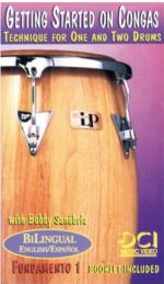 Bobby Sanabria Getting Started on Congas 1,2 Bobby Sanabria