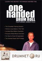 Jared Falk One Handed Drum Roll Jared Falk