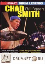 Pete Riley Stick Library / Lick Library - Chad Smith Drum Legends - Chili Peppers Pete Riley